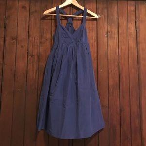 Cami Razorback Fit and Flare Midi Dress w/ Pockets